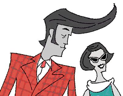 Animated musical greeting card