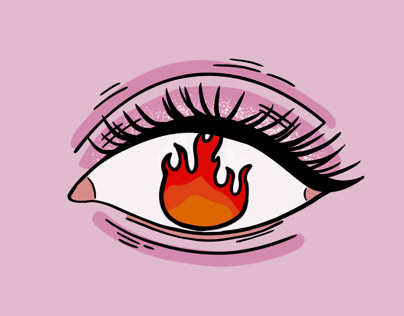 YOU MAKE MY EYES BURN - GIF