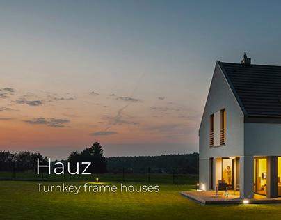 Hauz – Turnkey Frame Houses