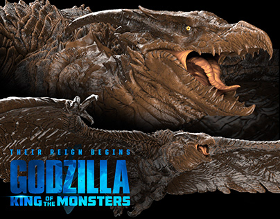 Godzilla: King of the Monsters - Rodan Final Concept
