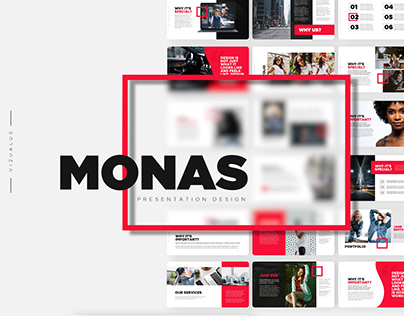 Monas Powerpoint Template | Free download