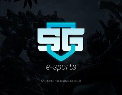 Visual Identity for SG e-Sports