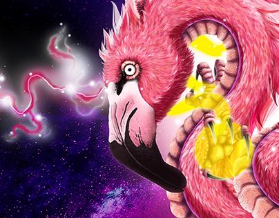 Flamingo Dragon