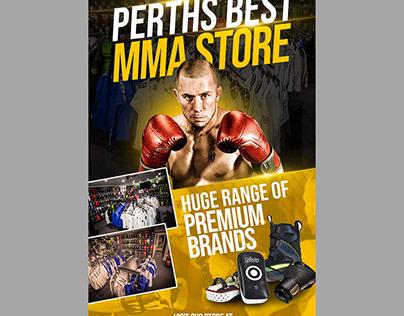 MMA Store - Poster Design