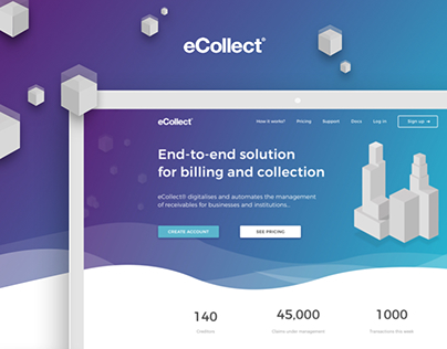 eCollect - Website Redesign