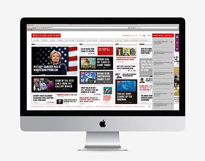 The globe & mail   Online web newspaper