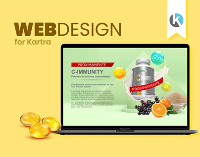 C Immunity - UIUX WEB DESIGN - Landing Page
