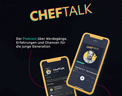 ChefTalk Podcast Visual Identity