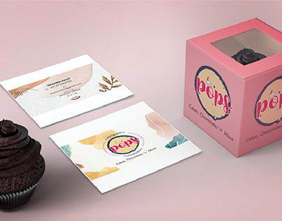Branding - Cakes, Pastries & Chocolates