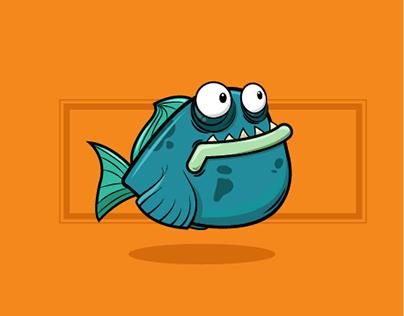 Vector illustrations | The fish gang