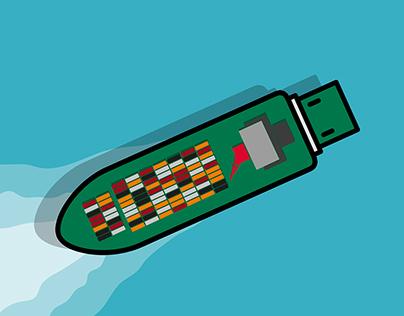 SNOVA USB ..Print Campaign
