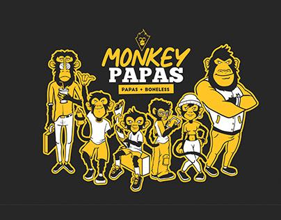 Monkey Papas Branding