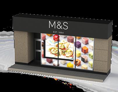 Marks & Spencer - Shop Front Concept