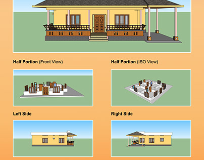 House Plan ( Interior & Exterior )