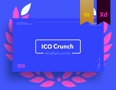 ICO Crunch - analytics portal for crypto projects
