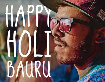 Happy Holi Bauru 2016 - O Festival das Cores