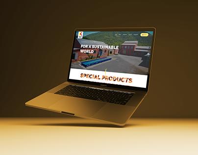 Karaca Findik logo/brochure/web Design concept