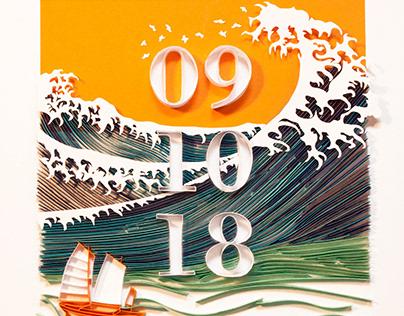 Ocean, Papercraft