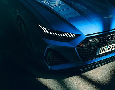 AUDI RS6   CGI