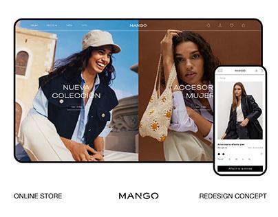 Mango ┃ Online Store Redesign