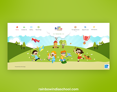 Website for Rainbow India School