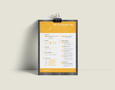 Kirsty Ho CV & Business Card