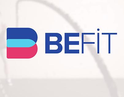 BEFIT Health & Fitness Logo Design