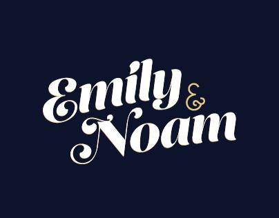 Emily & Noam Wedding Invitation