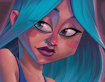 Faces Painting Studies