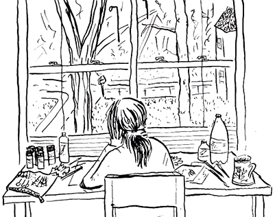 Comics About Drawing