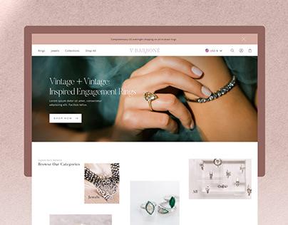 Web Design - Victor Barboné Jewelry