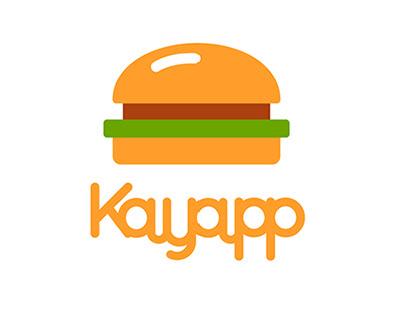 Kayapp - Ételrendelő app
