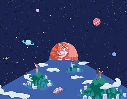 universe+cat