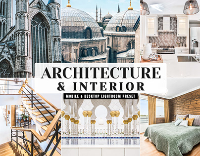 Free Architecture & Interior Mobile & Desktop Preset