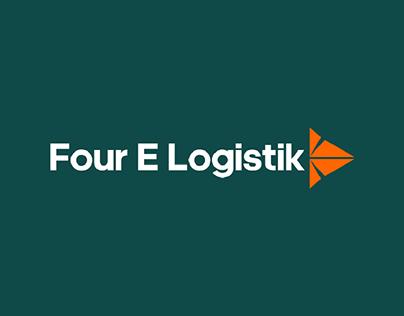 Visual Identity Design For 4E Logistik