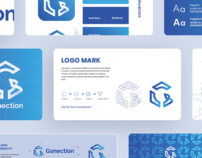Gonection | Visual Identity Design