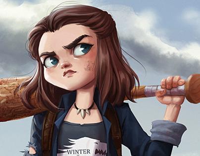 Arya Stark Character Design Challenge