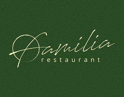 FAMILIA french cuisine restaurant