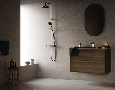 Bathroom - Pella Hedeby \\ Making-of Timelapse