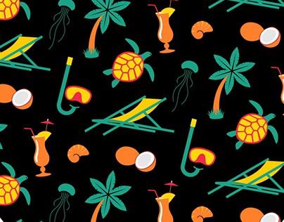 """The pattern """"Maldives"""""""