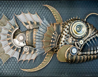 Механическая рыба (mechanical fish)