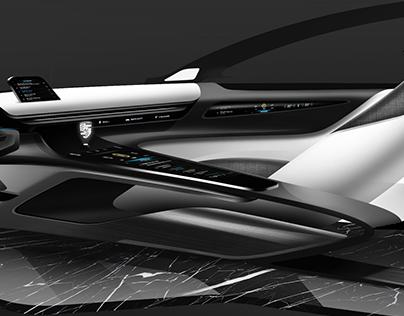 Porsche interior design doodle teaser / Project WIP