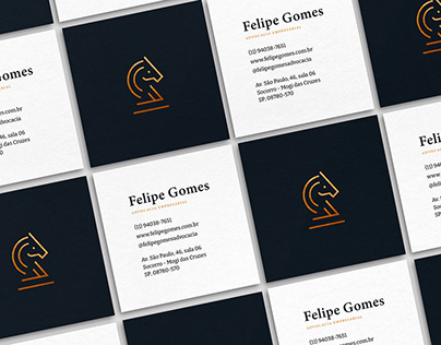 IDENTIDADE VISUAL | Felipe Gomes