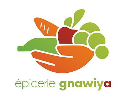 Logotype pour épicerie