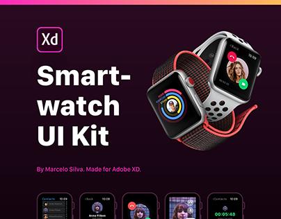 Smartwatch UI Kit for AdobeXD