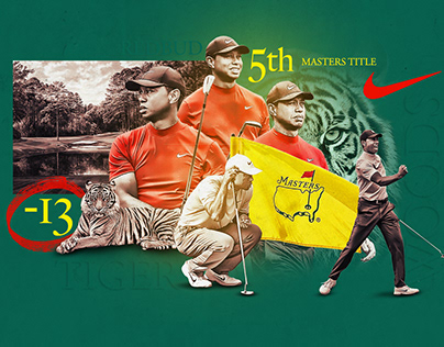 Tiger Woods - 5th Masters Title
