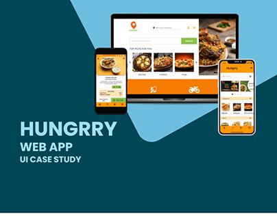 Hungrry web app