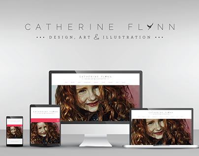 Web Design Artist - Catherine Flynn Responsive