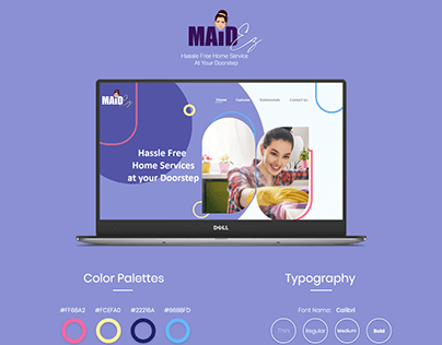 Website Presentation Maid'ez