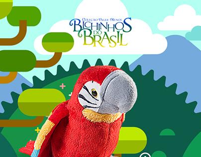 Bichinhos do Brasil - Hotsite